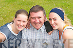 WINNER: Denis Guerin, Lixnaw, pictured with Ballybunion girls Joanne Riordan and Katie Purtill after winning International Bachelor of 2007..