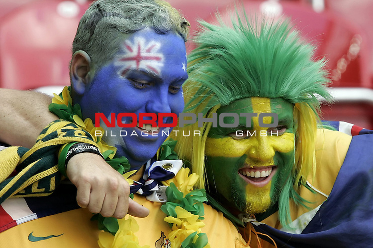 FIFA WM 2006 -  Round of Sixteen - / Viertelfinale <br /> Play      #53 (26-Jun) - Italien - Australien<br /> <br /> Fan Schmuck Feature <br /> <br /> <br /> Foto &copy; nordphoto