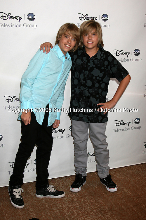 Cole & Dylan Sprouse arriving at the ABC TCA Summer 08 Party at the Beverly Hilton Hotel in Beverly Hills, CA on.July 17, 2008.©2008 Kathy Hutchins / Hutchins Photo .