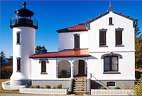 Admiralty Head Lighthouse Whidbey Island Washington