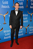 LOS ANGELES, CA. February 17, 2019: Ed Helms at the 2019 Writers Guild Awards at the Beverly Hilton Hotel.<br /> Picture: Paul Smith/Featureflash
