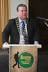 Mayor Paul Bell at the Launch of the Boyne Valley Walking Festival...(Photo credit should read Jenny Matthews www.newsfile.ie)....This Picture has been sent you under the conditions enclosed by:.Newsfile Ltd..The Studio,.Millmount Abbey,.Drogheda,.Co Meath..Ireland..Tel: +353(0)41-9871240.Fax: +353(0)41-9871260.GSM: +353(0)86-2500958.email: pictures@newsfile.ie.www.newsfile.ie.