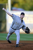 Rob Scahill of the Tri-City Dust Devils in the Northwest League championship game against the Salem-Keizer Volcanoes at Volcanoes Stadium - 9/10/2009..Photo by:  Bill Mitchell/Four Seam Images..