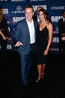 NEW YORK, NY - JUNE 11: Luciana Barroso, Matt Damon  at World Premiere of Men in Black International at AMC Lincoln Square on June 11, 2019 in New York City. <br /> CAP/MPI99<br /> ©MPI99/Capital Pictures