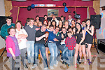 18thBirthday: Jason Nolan, Kilflynn, celebrating his 18th birthday with family and friends at Herbert'sBar, Kilflynn on Saturday night last.