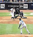 Ichiro Suzuki (Yankees), Hisashi Iwakuma (Mariners),.MAY 15, 2013 - MLB :.Hisashi Iwakuma of the Seattle Mariners gets Ichiro Suzuki of the New York Yankees to ground out to second in the sixth inning during the baseball game at Yankee Stadium in The Bronx, New York, United States. (Photo by AFLO)