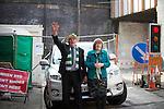 © Joel Goodman - 07973 332324 . 13/03/2016 . Manchester , UK . The St Patrick's Day Parade , celebrating the Irish Community , through Manchester City Centre , in the Spring sunshine . Photo credit : Joel Goodman