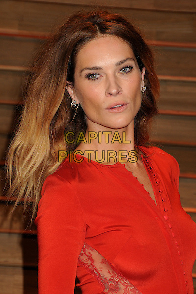 02 March 2014 - West Hollywood, California - Erin Wasson. 2014 Vanity Fair Oscar Party following the 86th Academy Awards held at Sunset Plaza. <br /> CAP/ADM/BP<br /> &copy;Byron Purvis/AdMedia/Capital Pictures