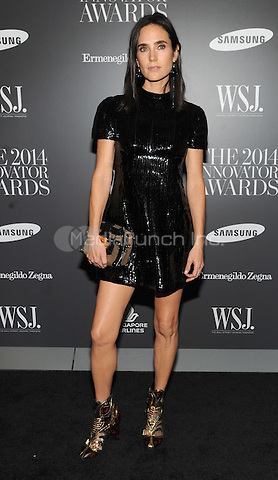 New York, NY-  November 5:Jennifer Connelly attends the WSJ ' Innovator Of The Year' Awards at the Museum Of Modern Art on November 5, 2014 in New York City. Credit: John Palmer/MediaPunch