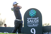 Haydn Porteous (RSA) on the 9th tee during the 1st round of  the Saudi International powered by Softbank Investment Advisers, Royal Greens G&CC, King Abdullah Economic City,  Saudi Arabia. 30/01/2020<br /> Picture: Golffile | Fran Caffrey<br /> <br /> <br /> All photo usage must carry mandatory copyright credit (© Golffile | Fran Caffrey)
