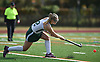 Skylar Reed #2 of Carle Place makes a pass during the Nassau County varsity field hockey Class C final against Oyster Bay at Berner Middle School in Massapequa on Sunday, Oct. 28, 2018. She scored three goals in the first half.