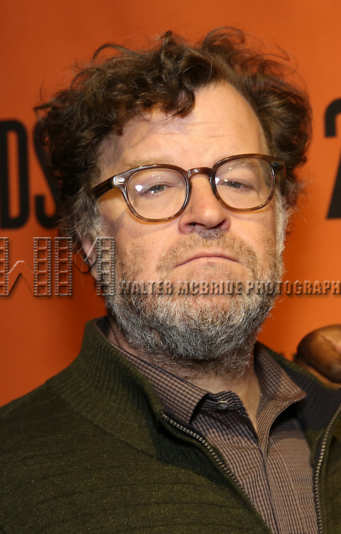 Kenneth Lonergan backstage at  the Second Stage Theater Broadway lights up the Hayes Theatre at the Hayes Theartre on February 5, 2018 in New York City.