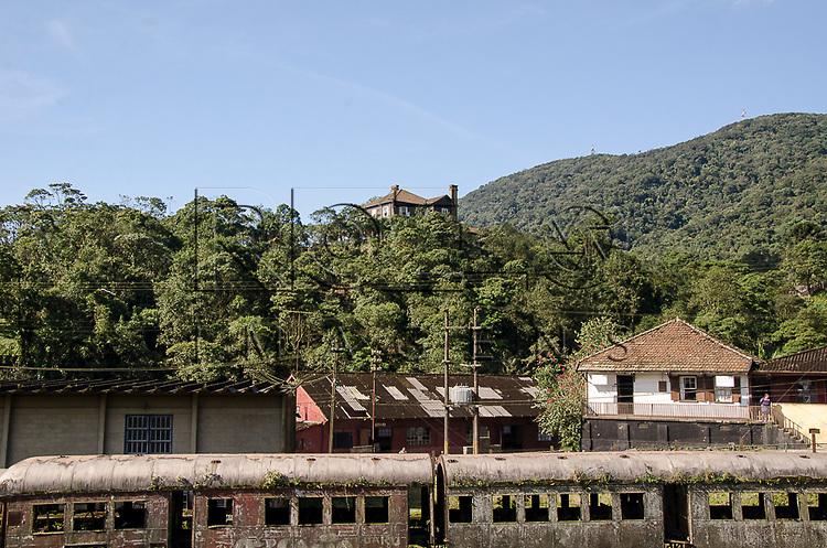 Vag&atilde;o de trem na Vila de Paranapiacaba, Santo Andr&eacute; - SP, 04/2013.<br /> * &Eacute; necess&aacute;rio solicitar autoriza&ccedil;&atilde;o para a Vila de Paranapiacaba.