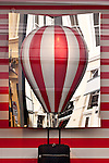 LV Hot Air Balloon - Louis Vuitton shopfront display window, King Street, Perth, Western Australia.