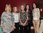 Helena Mullen celebrating her 50th birthday with her friends Susan McLoughlin, Veronica Hanlon, Geraldine Murphy and Alice Mohan in Brú. Photo:Colin Bell/pressphotos.ie