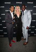 CULVER CITY, CA - MARCH 7: Cory Hardrict, Elisabeth Rohm, Kwame Patterson, pictured at Crackle's The Oath Premiere at Sony Pictures Studios in Culver City, California on March 7, 2018. <br /> CAP/MPIFS<br /> &copy;MPIFS/Capital Pictures