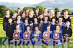 Slive Mish and Glenflesk dancers who won competitions at the All Ireland championship in Cavan last weekend front row l-r: Rayanne O'Connor Kenmare, Rose Kelleher Glenflesk, Elaine Healy-Rae Kilgarvan, Grainne Hayes Castlemaine, Holly Dennehy Caherciveen, Patrick Teahan Glenflesk. Middle row: Proinnisias O Cathasaigh Lispole, Louise Lynch Killarney, Orla Kelleher Glenflesk, Julianne O'Shea Glenflesk, Sarah Godfrey Kilgarvan, Katie O'Sullivan Milltown. Back row: Cathy Hayes Castlemaine, Heather Grey Ballyfinnane, Norita Cashman Glenflesk, Teresa Healy Rae Kilgarvan, Joanne Cashman Glenflesk, Katelynn O'Keeffe Glenflesk, Cliona Creedon Glenflesk, Mairtin O Cathasaigh Lispole, Danielle O'Riordain Ardfert, Margaret Browne Firies, Shona Gleeson Gneeveguilla and Marie Lynch Killarney