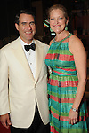 "Joella and Steve Mach at the 2016 Houston Symphony Gala ""Carnaval"" at Jones Hall Saturday May 14,2016(Dave Rossman Photo)"