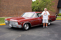 1966 Contemporary Junior (#110.2) – 1966 Chevrolet Impala 2-Door Hardtop registered to Bill Armstrong is pictured during 4th State Representative Chevy Show on Friday, July 1, 2016, in Fort Wayne, Indiana. (Photo by James Brosher)