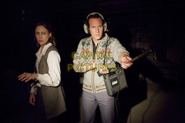VERA FARMIGA, PATRICK WILSON<br /> in The Conjuring (2013) <br /> *Filmstill - Editorial Use Only*<br /> CAP/FB<br /> Image supplied by Capital Pictures