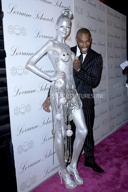 """WWW.ACEPIXS.COM . . . . . .November 22, 2010...New York City...Tyson Beckford arrives to the launch event for Lorraine Schwartz """"2BHappy"""" jewelry collection on November 22, 2010 in New York City....Please byline: KRISTIN CALLAHAN - ACEPIXS.COM.. . . . . . ..Ace Pictures, Inc: ..tel: (212) 243 8787 or (646) 769 0430..e-mail: info@acepixs.com..web: http://www.acepixs.com ."""