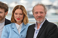 "CANNES, FRANCE. May 23, 2019: Lea Seydoux & Arnaud Desplechin at the photocall for ""Oh Mercy!"" at the 72nd Festival de Cannes.<br /> Picture: Paul Smith / Featureflash"
