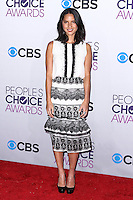 LOS ANGELES, CA - JANUARY 09: Olivia Munn arrives at the 39th Annual People's Choice Awards held at Nokia Theatre L.A. Live on January 9, 2013 in Los Angeles, California.  Credit: MediaPunch Inc. /NORTEPHOTO
