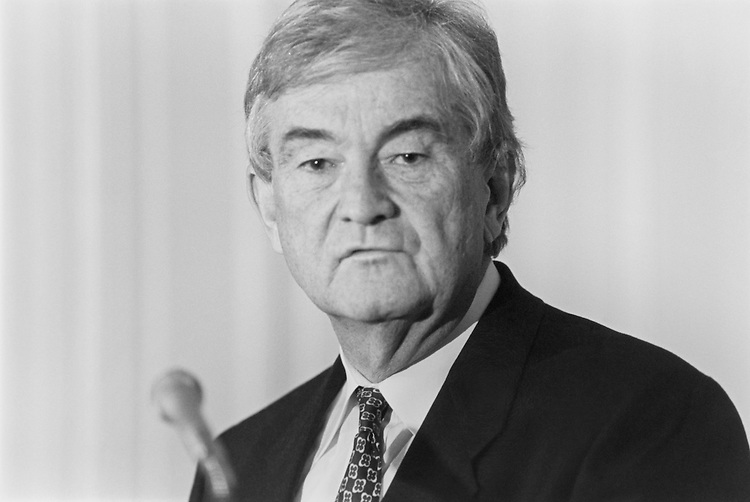 "Rep. Charles Grandison ""Charlie"" Rose III, D-N.C., House of Representatives Member. October 1993 (Photo by Laura Patterson/CQ Roll Call)"