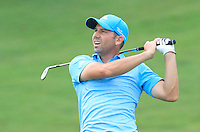 Sergio Garcia (ESP) on the 12th during Round 3 of the CIMB Classic in the Kuala Lumpur Golf & Country Club on Saturday 1st November 2014.<br /> Picture:  Thos Caffrey / www.golffile.ie