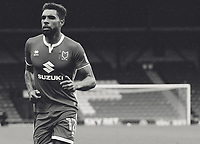 Milton Keynes Dons' Scott Golbourne<br /> <br /> Photographer Juel Miah/CameraSport<br /> <br /> The EFL Sky Bet League One - Bury v Milton Keynes Dons - Saturday 30th September 2017 - Gigg Lane - Bury<br /> <br /> World Copyright &copy; 2017 CameraSport. All rights reserved. 43 Linden Ave. Countesthorpe. Leicester. England. LE8 5PG - Tel: +44 (0) 116 277 4147 - admin@camerasport.com - www.camerasport.com