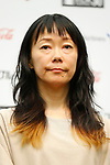 Japanese film director <br /> Akiko Oku <br /> attends a press conference for the 30th Tokyo International Film Festival (TIFF) at Roppongi Hills on September 26, 2017, Tokyo, Japan. <br /> Organisers announced the full lineup of films and special events for the festival. <br /> (Photo by 2017 TIFF/AFLO)