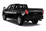 Car pictures of rear three quarter view of 2020 GMC Sierra-2500-HD Denali 4 Door Pick-up Angular Rear