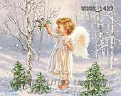 Dona Gelsinger, CHRISTMAS CHILDREN, paintings+++++,USGE1427,#xk# angels,