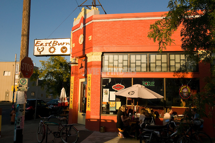 Exterior of East Burn Tap Room, Portland, Oregon