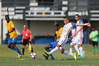 St. Vincent and the Grenadines - September 2, 2016: The U.S. Men's National team take a 3-0 lead over St. Vincent and the Grenadines with Bobby Wood contributing a goal in a World Cup Qualifier (WCQ) match at Arnos Vale Stadium.
