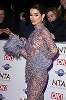 Maura Higgins<br /> arriving for the National TV Awards 2020 at the O2 Arena, London.<br /> <br /> ©Ash Knotek  D3550 28/01/2020