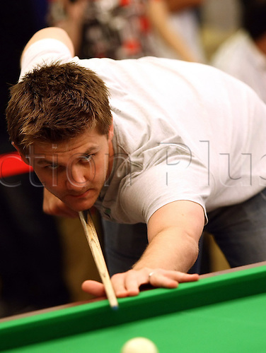 Jun 02, 2010; Wuxi, CHINA; Ryan Day of Wales at a promotional event of the upcoming 2010 World Snooker Wuxi Classic which will be held from Jun 3 to 6 as the first professional tournament of the 2010/11 snooker season.