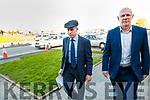 Michael Helay Rae TD and John Brassil TD at University Hospital Kerry on Monday