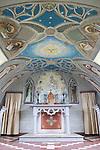Italian Chapel on Lamb Holm, Orkney Islands, Scotland