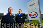 Kingdom Oil at Rathass,Tralee, from left: Kieran O'Keeffe, Manager and George O'Keeffe.