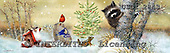 GIORDANO, CHRISTMAS ANIMALS, WEIHNACHTEN TIERE, NAVIDAD ANIMALES, paintings+++++,USGI2843,#XA#