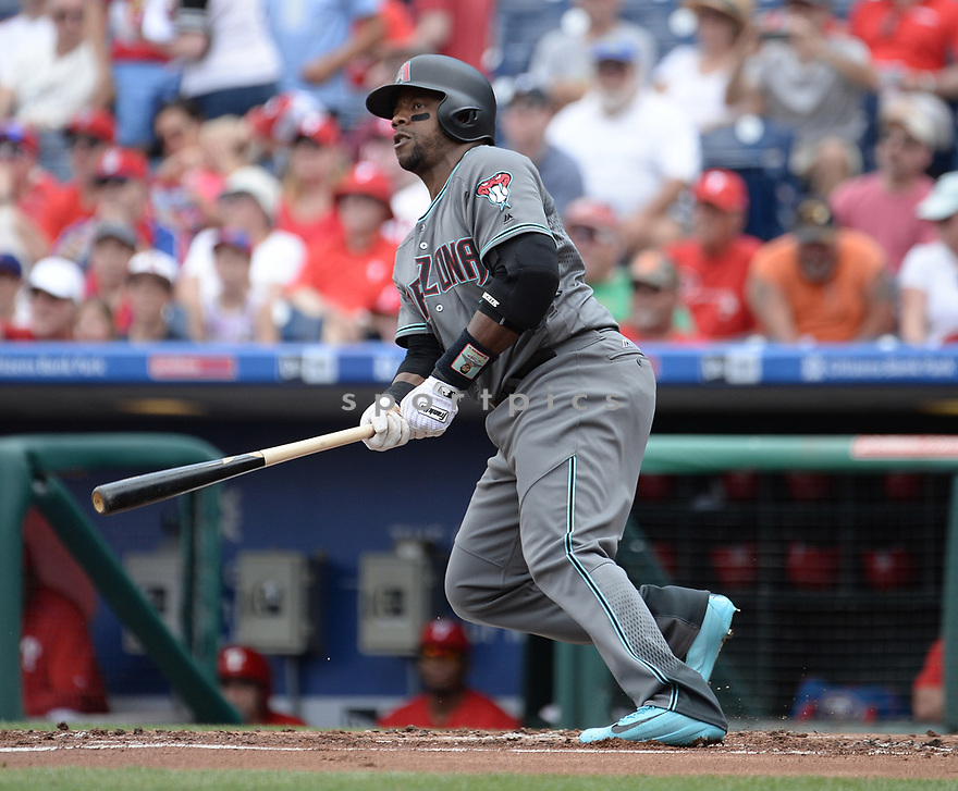 Arizona Diamondbacks Rickie Weeks (5) during a game against the Philadelphia Phillies on June 20, 2016 at Citizens Bank Park in Philadelphia, PA. The Diamondbacks beat the Phillies 3-1.
