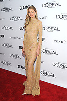 BROOKLYN, NY - NOVEMBER 13: Gigi Hadid  at Glamour's 2017 Women Of The Year Awards at the Kings Theater in Brooklyn, New York City on November 13, 2017. <br /> CAP/MPI/JP<br /> &copy;JP/MPI/Capital Pictures