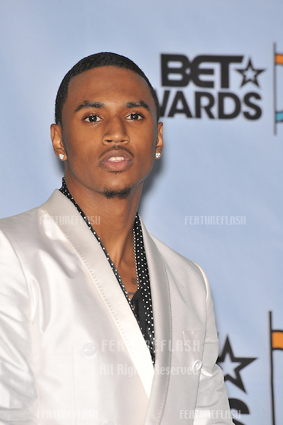 Trey Songz at the 2009 BET Awards (Black Entertainment Television) at the Shrine Auditorium..June 28, 2009  Los Angeles, CA.Picture: Paul Smith / Featureflash