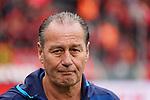 11.05.2019, BayArena, Leverkusen, GER, 1. FBL, Bayer 04 Leverkusen vs. FC Schalke 04 ,<br />  <br /> DFL regulations prohibit any use of photographs as image sequences and/or quasi-video<br /> <br /> im Bild / picture shows: <br /> Huub Stevens Interiemstrainer (Headcoach FC Schalke 04),  <br /> <br /> Foto &copy; nordphoto / Meuter
