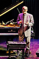 Pianist Ahmal Jamal in concert at Blanche M. Touhill Performing Arts Center at University of Missouri in St. Louis on Nov 6, 2011.