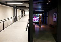 Centro de Cultura Digital (CCD) a museum of digital culture at the Estela de Luz in Mexico City.  Designed bu at103.