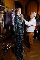 Armine Ohanyan<br /> Paris Fashion week Haute Couture 2019<br /> Paris, France on June 30, 2019.<br /> CAP/GOL<br /> ©GOL/Capital Pictures