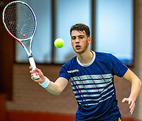 Wateringen, The Netherlands, December 4,  2019, De Rhijenhof , NOJK 14 and18 years, Erdem Isitan (NED)<br /> Photo: www.tennisimages.com/Henk Koster