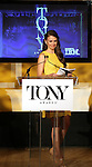 Sutton Foster announce the 2013 Tony Award Nominations at The New York Public Library for Performing Arts in New York on 4/30/2013...